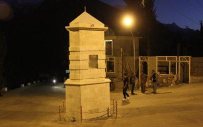 مومن آباد ہنزہ میں معروف مدبر اور دانشور وزیر قدیرو سے منسوب یاد گار کا افتتاح