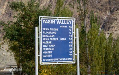 چیف سیکریٹری نے یاسین میںمتعدد منصوبوںکا معائنہ کیا