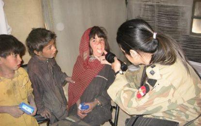 پاک فوج کے زیرِ اہتمام ضلع گھانچھے کے علاقے مچلو اور ہوشے میں چار روزہ مفت میڈیکل کیمپ کا انعقاد
