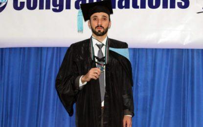 محسن امیر نےکمپیوٹرزسائنس میں سلور میڈل حاصل کیا