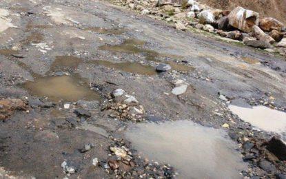 چلاس: محلہ سید آباد کی رابطہ سڑکیں خستہ حالی کا شکار حادثات رونما ہونے لگے۔
