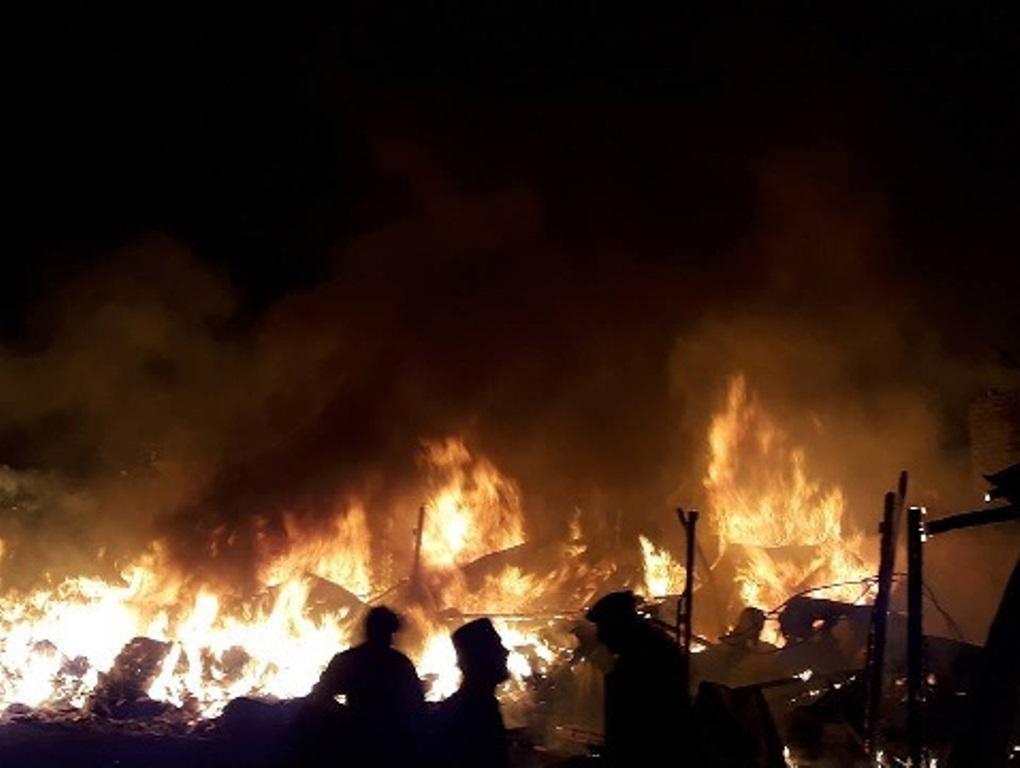 ضلع شگر کے علاقے نواسلو میں آتشزدگی کا سانحہ، تین رہائشی مکانات اور تین دکانیںجل گئیں