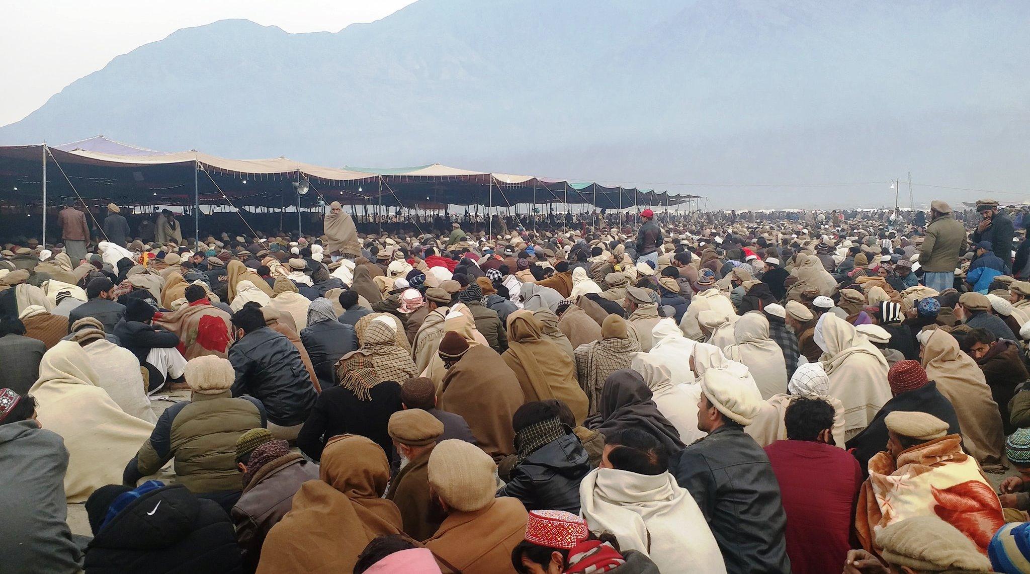 چلاس شہر میں جاری تین روز ہ تبلیغی اجتماع اجتماعی دعا کے ساتھ اختتام پذیر ہوا