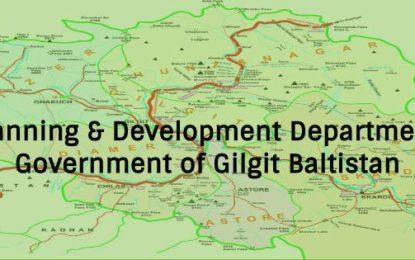 گلگت بلتستان ڈیپارٹمنٹل ورکنگ پارٹی اجلاس میں 41کروڑ 81لا کھ کی لا گت کے 23منصوبے منظور کیا گیا
