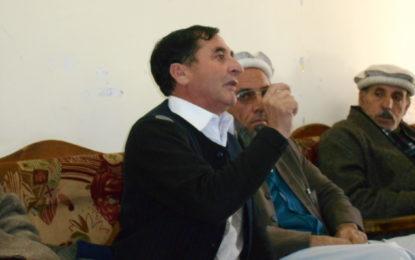 گولین گول پراجیکٹ سے اپر چترال کوبجلی نہ ملنے پر شدید ترین احتجاج کے لئے بچوں اور خواتین کو سڑکوں پر لانے پر مجبور ہوں گے۔ایم پی اے سردار حسین کی پریس کانفرنس