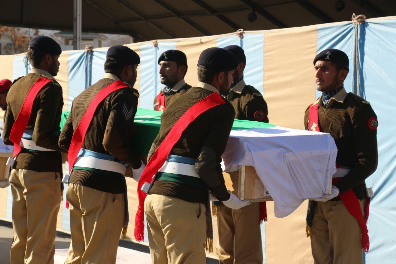 سانحہ سیاچن میں برفانی تودے تلےدب کر شیہد ہونے والے پاک فوج کے جوان قوم کے قابل فخر بیٹے ہیں، وزیر اعلی گلگت بلتستان