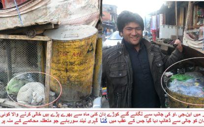 ضلع کوہستان کے شہر داسو اور کمیلہ غلاضت کا ڈھیر بن گئے، تعفن سے شہریوں کا چلنا محال ہوگیا، انتظامیہ خوابِ خرگوش میں مصروف