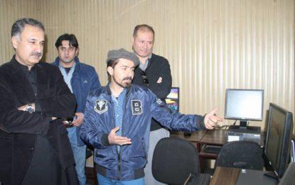 ڈسٹرکٹ جیل گلگت میں کمپیوٹر سینٹر اور لائبریری کا افتتاح
