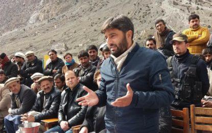 اشکومن کے دور افتادہ گاوںبورتھ میں پہلی بار کھلی کچہری منعقد