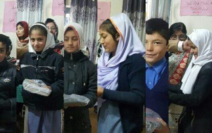 گورنمنٹ گرلز ہائی سکول علی آباد میںضرورت مند طلبا میںکتابوں اور بستوں کی تقسیم