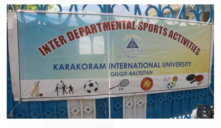 قراقرم انٹرنیشنل یونیورسٹی گلگت میںسپورٹس گالا کا آغاز، کھیلوںکے مقابلے ایک ہفتے تک جاری رہیں گے