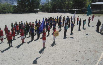 بوائز ہائی سکول گاہکوچ میںہفتہ کھیل کا آغاز