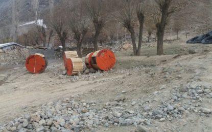 درکوت یاسین میںبجلی فراہمی کےلئے تین کلومیٹر طویل زیرِ زمین ٹرانسمیشن لائن بچھانے کے لئے کھدائی کا آغاز