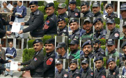 سانحہ اُلتر کے دوران شاندار خدمات سرانجام دینے پر ہنزہ پولیس کے اہلکاروں کے اعزاز میںتقریب منعقد