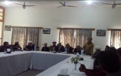 تجار یونین نے چترال بازار  کے مسائل حل کرنے لیے ایگزیگٹیو کمیٹی تشکیل دی