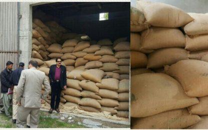 ضلع ہنزہ میںماہِاپریل کے لئے وافر گندم موجود ہے، سیکریٹری خوراک برہان الدین آفندی