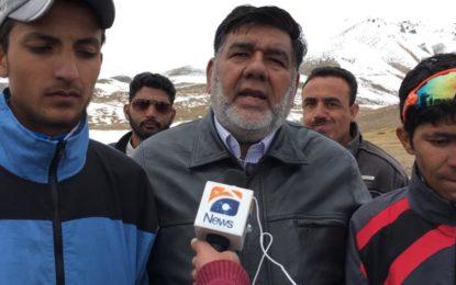 بلوچستان کے عبدالرزاق نے پہلی ٹور ڈی خنجراب سایکل ریس جیت لی