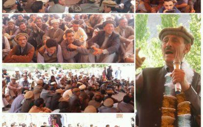 وزیر اعلی نے گلگت بلتستان کے ساتھ غداری کی، آرڈر 2018 غلامی کا حکمنانہ ہے، راجہ جہانزیب اور دیگر مقررین کا یاسین میںخطاب
