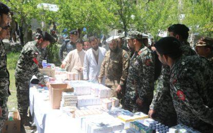 پاک فوج اور چترال سکاؤٹس کے زیر اہتمام موڑکہو وریجون میں فری میڈیکل کیمپ کا انعقاد
