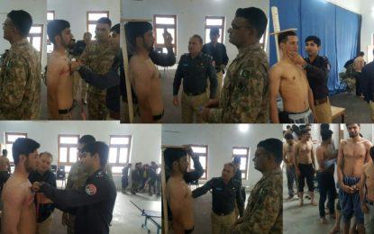 محکمہ پولیس ہنزہ میں 14 پوسٹس کے لئے چار سو نوجوان میدان میں، بھرتیاں میرٹ پر کرنے کا عزم