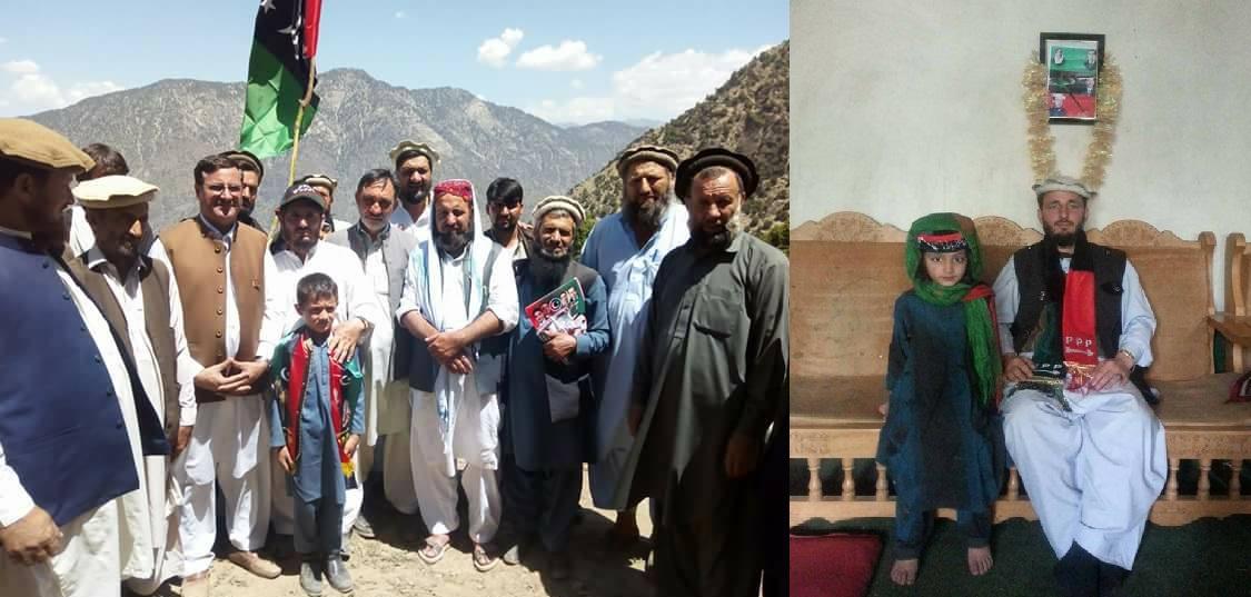 جماعت اسلامی کے رکن صلاح الدین اورارندوسے مسلم لیگ (ن) کے زاہداللہ اپنی برادری سمیت پاکستان پیپلزپارٹی میں شامل ہوگئے