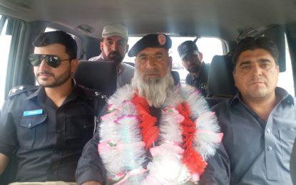 دیامر پولیس کے سبکدوش ہونے والے حوالدار چھلوکو خان کی شاندار انداز میںرُخصتی