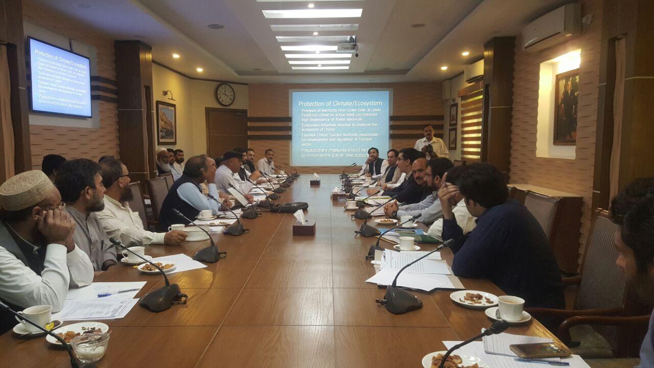 چترال کی ترقی کے لئے متعدد منصوبے زیر غور، ارندو میںڈرائی پورٹ تعمیر کرنے کی تجویز