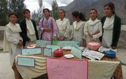 ہنزہ: ڈائمنڈ جوبلی سکول حیدر آباد میںروایتی کھانے پکانے کا دلچسپ مقابلہ