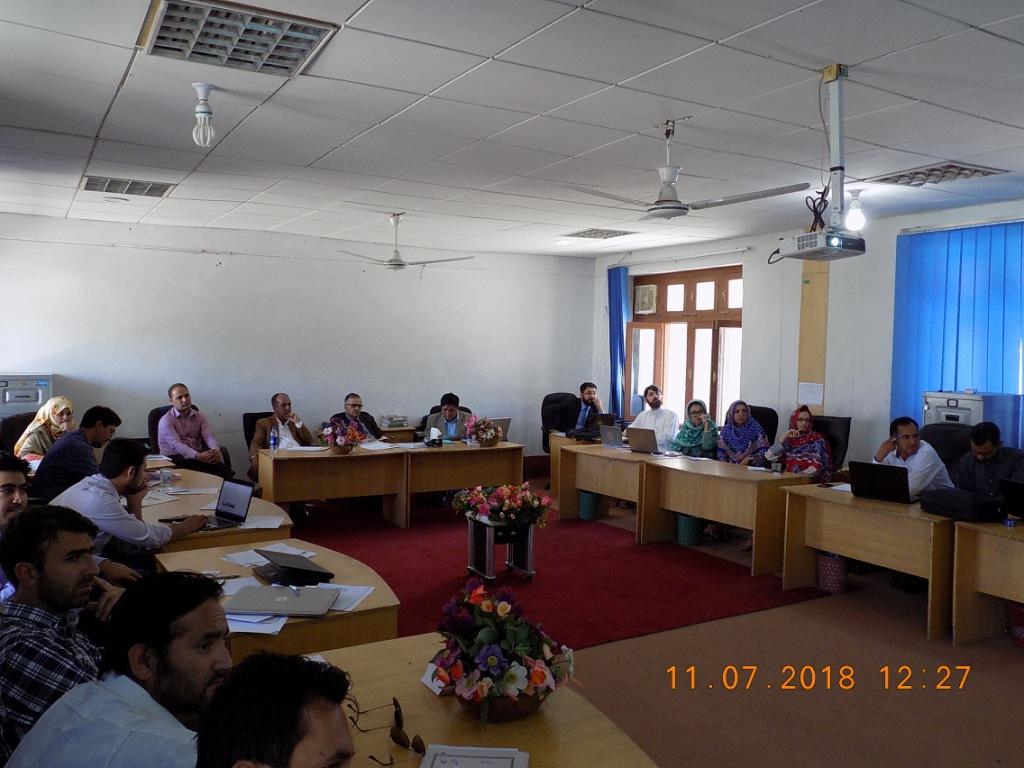 بلتستان یونیورسٹی فیکلٹی کونسل کی تیسری میٹنگ، متعدد منصوبے زیر بحث
