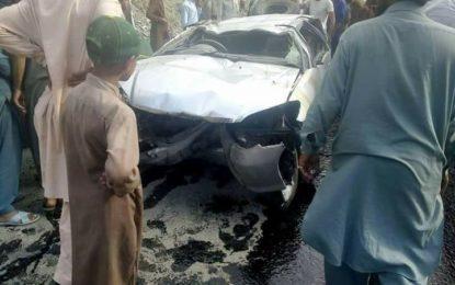 حادثات: بٹگرام میں مال بردار ٹرک میںآگ لگ گئی، بابوسر میںسیاحوںکی گاڑی کا بریک فیل ہوگیا، ایک بچی جان بحق، چار افراد زخمی ہوگئے