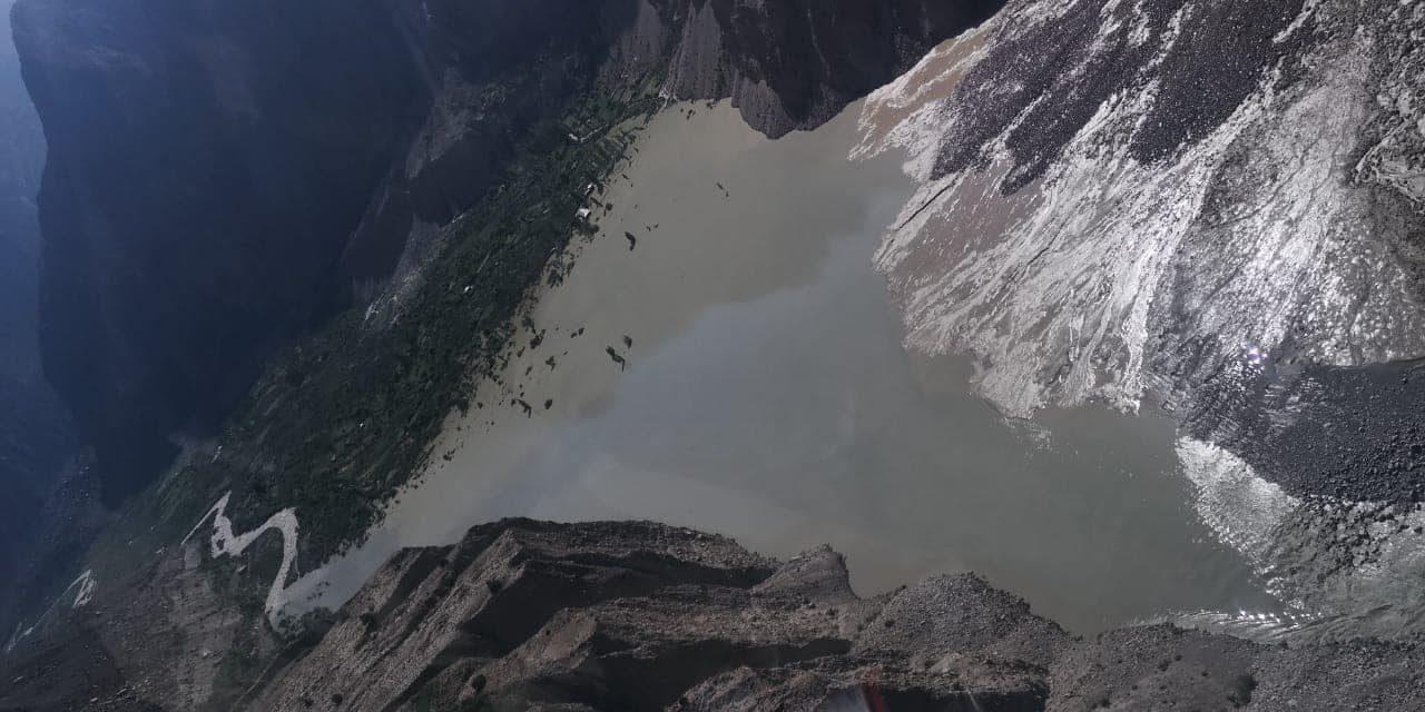 دریا کا بہاو جاری ہے، پانچ دنوںمیںاشکومن جھیل کا پانی ختم ہو جائے گا، ایف سی این اے