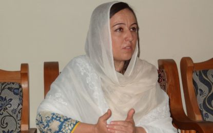 ووٹ بیچنے کے الزام میںپی ٹی آئی سے نکالی گئی چترال کی فوزیہ بی بی نے ایم ایم اے کی حمایت کا اعلان کردیا