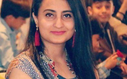 چترال کی ہونہار بیٹی سفینہ احمد فل برائیٹ سکالرشپ حاصل کرنے میں کامیاب