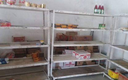 یاسین میںیوٹیلٹی سٹورز کے خالی شیلف صارفین کا منہ چڑا رہے ہیں