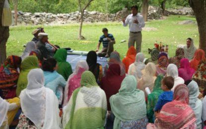 محکمہ زراعت کے زیر اہتمام یاسین میں دو روزہ تربیت کا انعقاد
