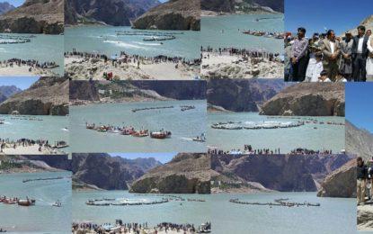 ہنزہ میںجشن آزادی کی رنگا رنگ تقریبات، عطا آباد جھیل ششکٹ میں کشتیوںکی ریلی منعقد