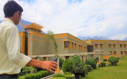 آغا خان ہائیر سیکنڈری سکول گلگت میں سر سبز پاکستان شجر کاری مہم