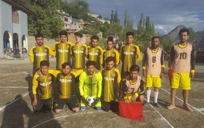 کریم آباد کی ٹیم ہنزوے ہایئن نے ہنزہ پریمیر لیگ جیت لی