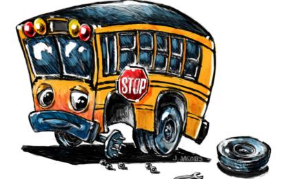پبلک سکول چلاس کی بس اور وین خراب، کم عمر بچے پیدل سکول جانے پر مجبور