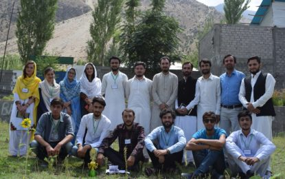 چترال کے گاوں آوی میں ایجوکیشنل ڈویلپمنٹفورم نے علمی پروگرام کا انعقاد کیا