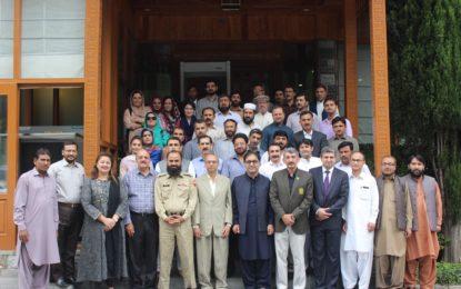 گلگت:سول رجسٹریشن اور ضروری اعدادوشمار کے فروغ کے عنوان سے سیمینار کا انعقاد