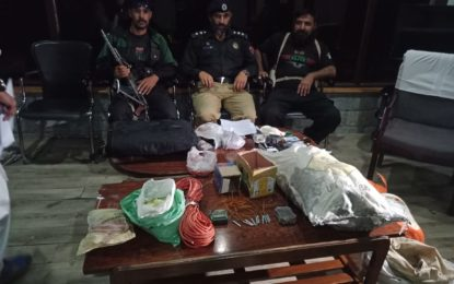 دہشتگردی میںملوث سات افراد گرفتار، دیسی ساخت بم بنانے کا سامان برآمد: ایس ایس پی غذر فیصل سلطان