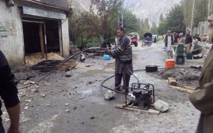 مادھو پور کھرمنگ میںآتشزدگی سے لکڑی کا کارخانہ اور دو دکانیںجل گئیں، لاکھوںکا نقصان