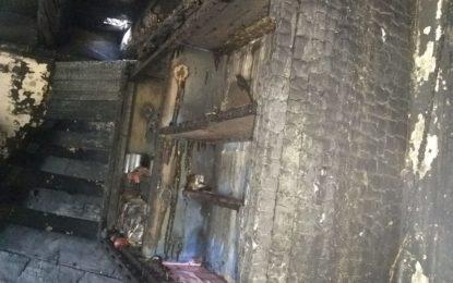 استور کے چونگرہ گاوں میں آتشزدگی، مکان خاکستر