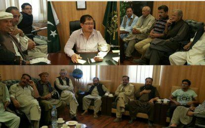 ہنزہ امن کمیٹی کا اجلاس، محرم الحرام کے دوران امن و امان برقرار رکھنے کا عزم
