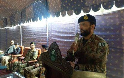 جب جرگہ کہے گی کہ فوج کی ضرورت نہیںرہی،  ہم فوج کو دیامر سے واپس بلائیںگے، کمانڈر ایف سی این اے میجر جنرل احسان محمود