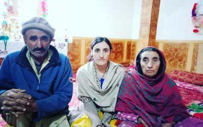 کوہستان ٹریفک حادثے میں بچ جانے والی خوش نصیب طالبہ، پروین خان