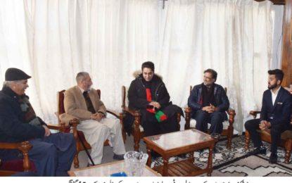 سابق گورنر پیر کرم علی شاہ سےچئیرمین پیپلز پارٹی کی ملاقات
