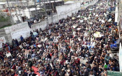 معائدہ 2010 نامنظور، دیامر بھاشہ ڈیم متاثرین کا چلاس میںبڑا جلسہ، ہزاروںافراد کی شرکت
