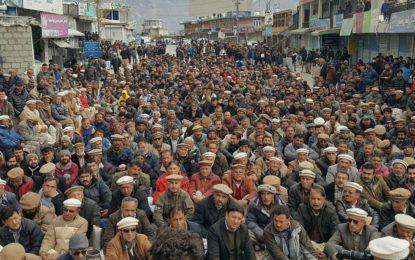 بجلی کی بدترین لوڈ شیڈنگ کے خلاف ہنزہ میں شدید احتجاج